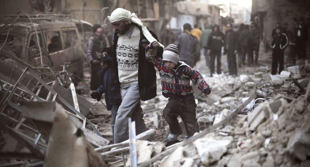 الوضع في شرق الغوطة