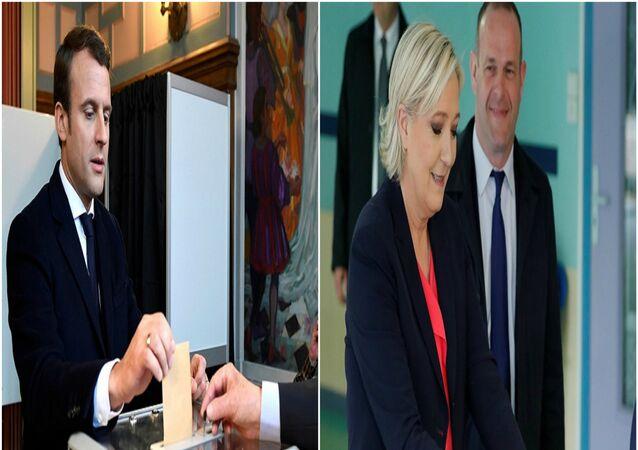 مرشحا الرئاسة الفرنسية