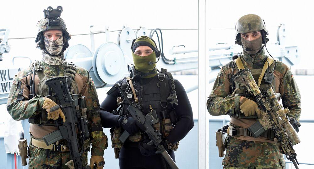 ضباط بالجيش الألماني