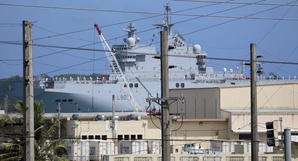 السفينة الفرنسية ميسترال