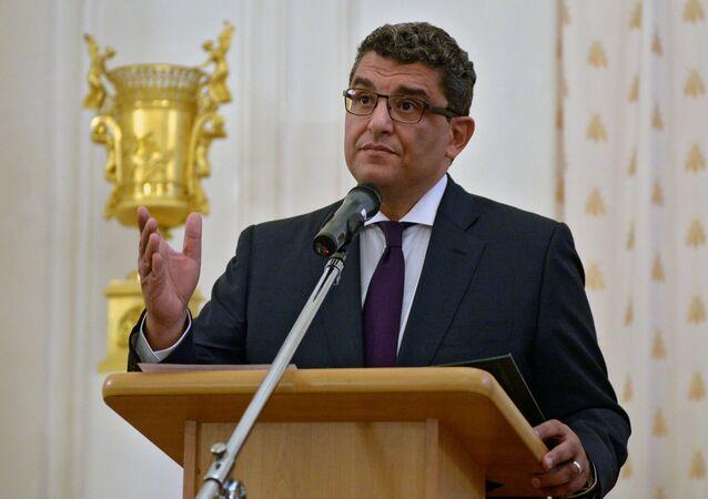 السفير المصري لدى روسيا محمد البدري