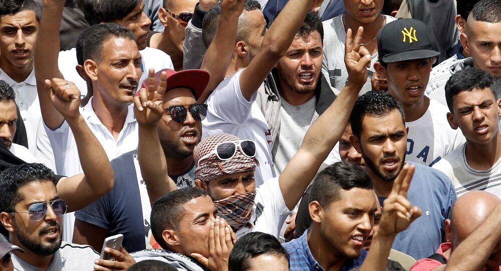 احتجاجات تونس