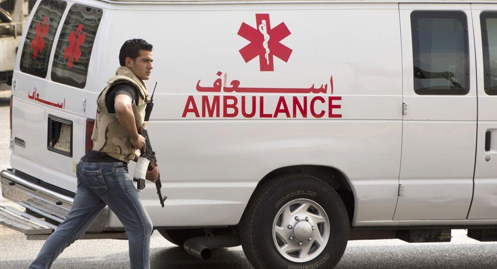 سيارة إسعاف مصر