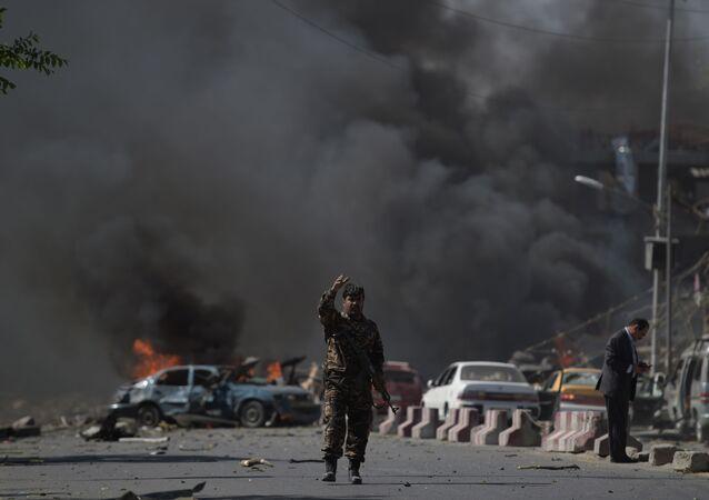 انفجار في كابول، أفغانستان