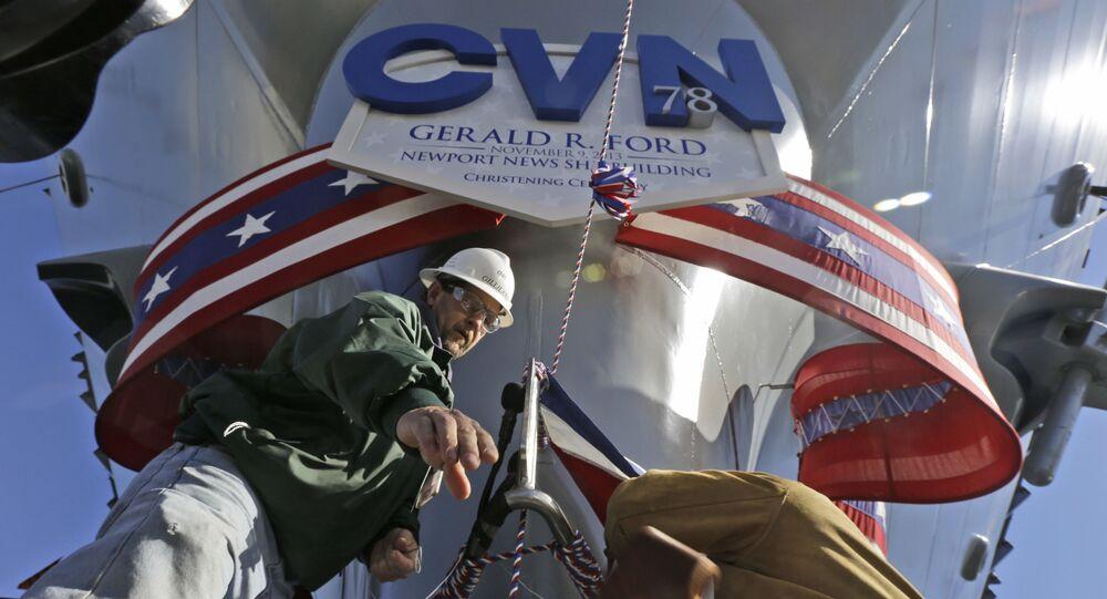أحدث حاملة طائرات تحمل اسم جيرالد آر فورد (Gerald R. Ford (CVN 78))
