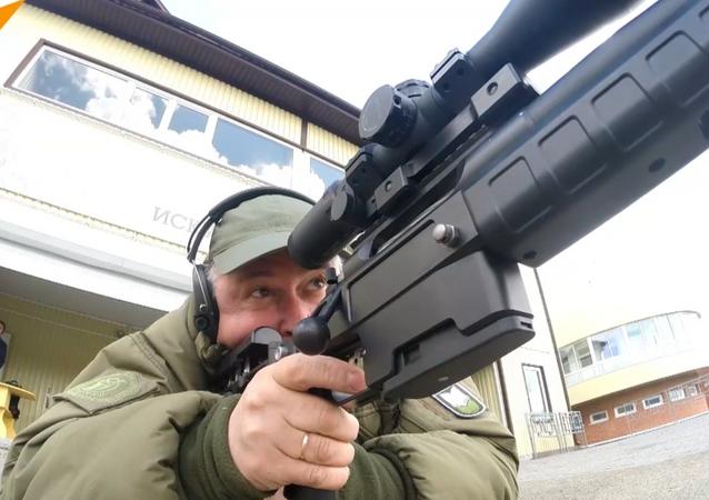 شاهد براعة القناصة تي-5000 الروسية