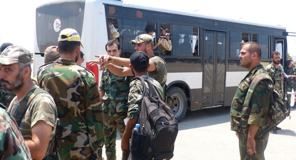 الجيش السوري يصل إلى الحدود العراقية