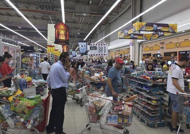 أحد متاجر الدوحة