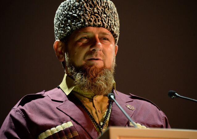 الزعيم الشيشاني رمضان قاديروف