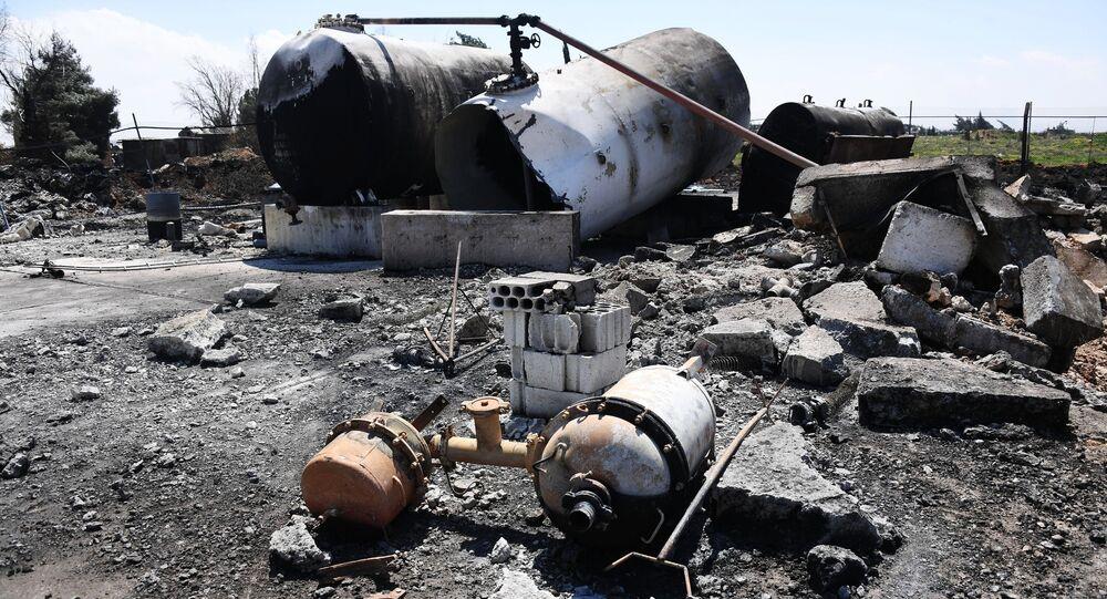تداعيات الضربة الأمريكية في سوريا