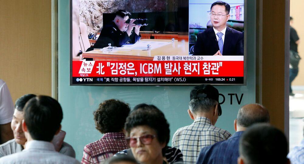 تجربة ناجحة لصاروخ باليستي كوري شمالي
