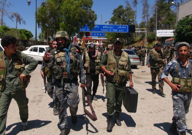 الشرطة السورية تدعم صفوفها بدورات جديدة