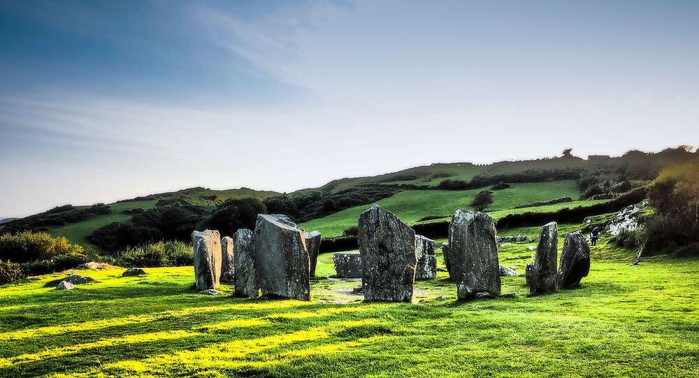 Ancient stone circles, Ireland