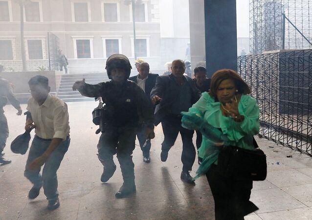اشتباكات فنزويلا