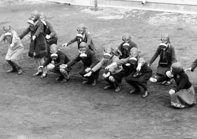 أعمال تحضيرية للهجوم الكيميائي في برلين في عام 1931