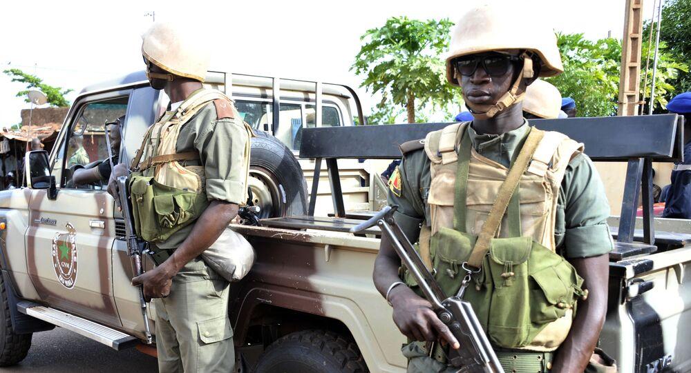 الجنود في مالي