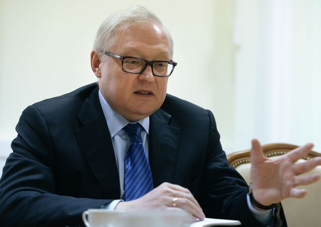 نائب وزير الخارجية الروسية سيرغي ريابكوف