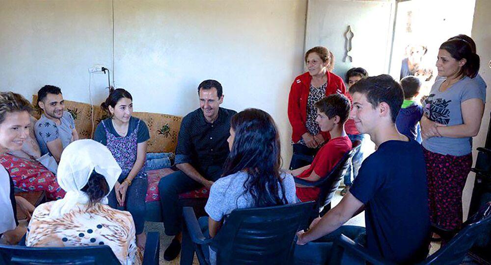 عائلة بشار الأسد