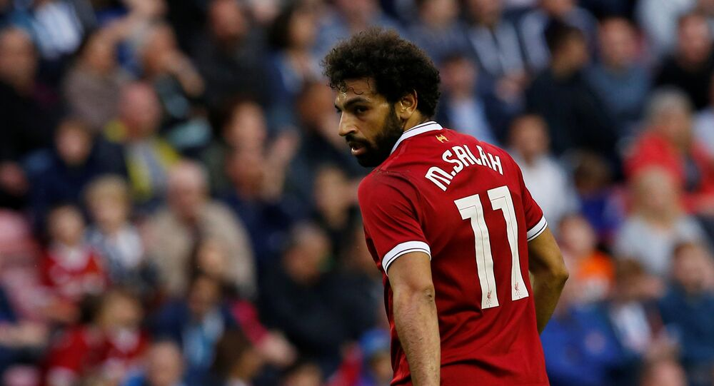 لاعب ليفربول محمد صلاح