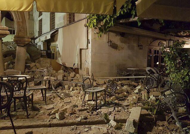 زلزال بقوة 6.7 درجة يضرب تركيا