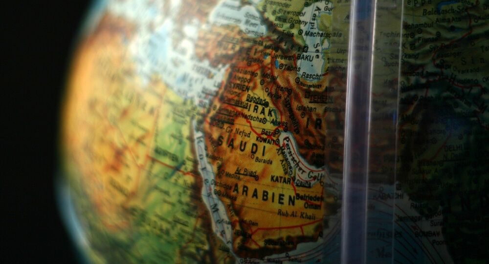 خريطة الشرق الأوسط
