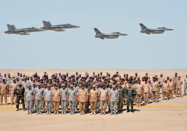 القوات المصرية والكويتية