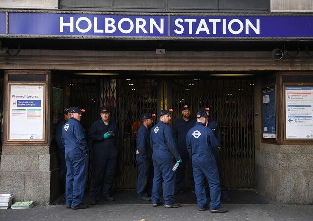 غلق محطة مترو هولبورن