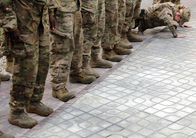 عسكريون أمريكيون في أفغانستان