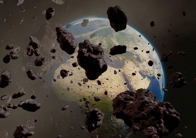 ناسا تنشر فيديو لاقتراب كويكب ضخم من الأرض