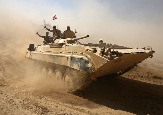 تقدم القوات العراقية في تلعفر غربي الموصل، العراق 22 أغسطس/ آب 2017