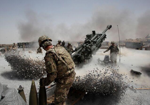 الجنود الأمريكيون في أفغانستان
