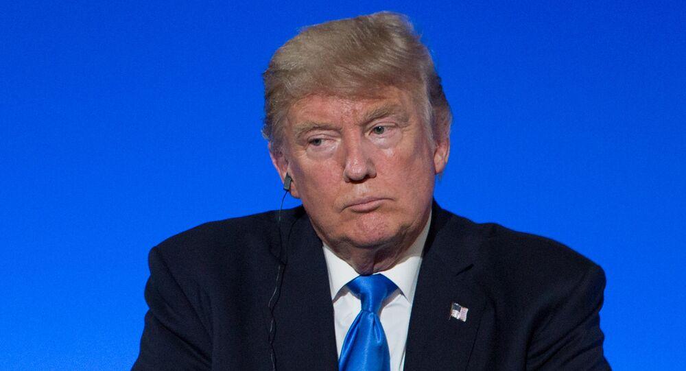 رئيس الولايات المتحدة دونالد ترامب في باريس، فرنسا