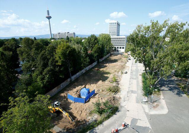 العثور على قنبلة في فرانكفورت