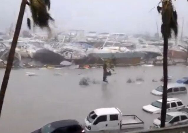 إعصار إيرما على جزيرة سان مارتن، 6  سبتمبر/ أيلول 2017