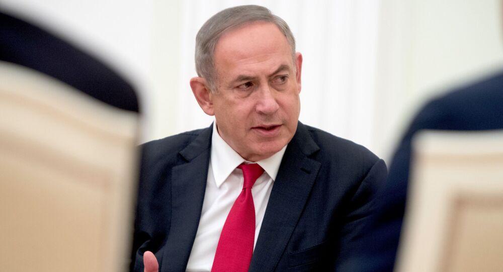 وزير الخارجية الإسرائيلية بنيامين نتنياهو