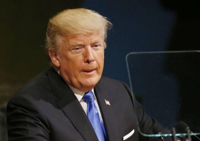 دونالد ترامب في  الجمعية العامة للأمم المتحدة