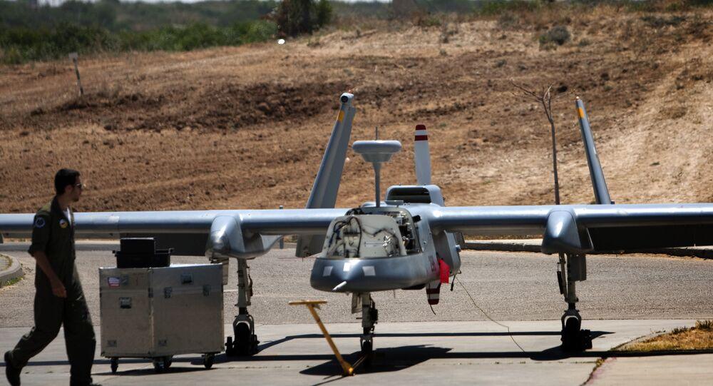 طائرة إسرائيلية بدون طيار