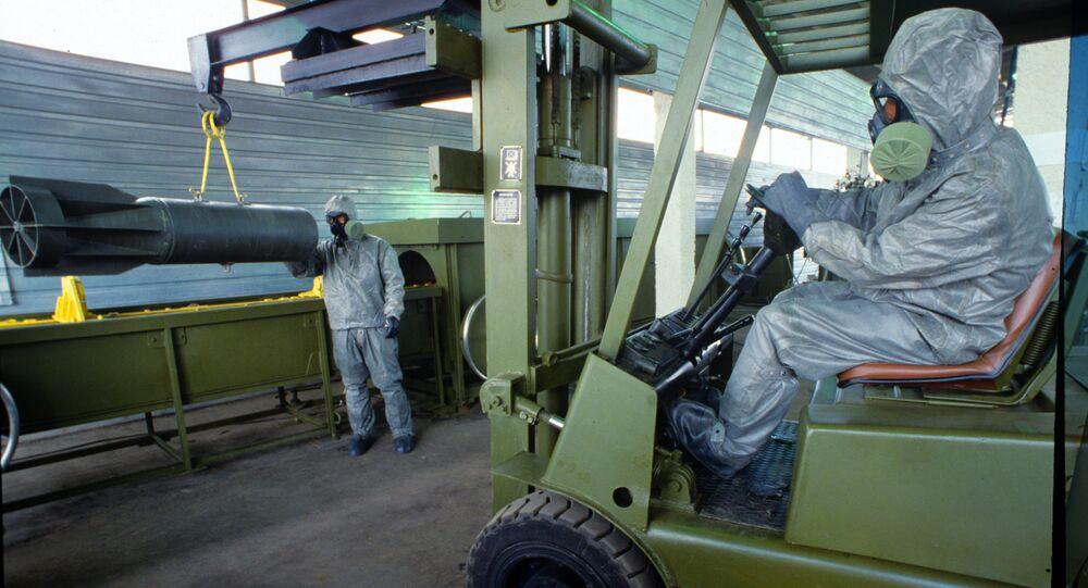 عملية تدمير الأسلحة الكيميائية