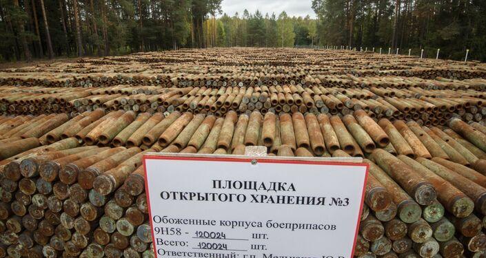 التخلص من آخر ذخيرة كيميائية في روسيا