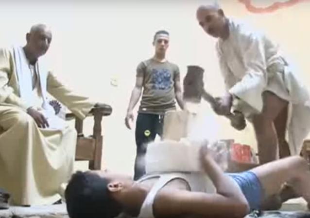 طفل مصري خارق