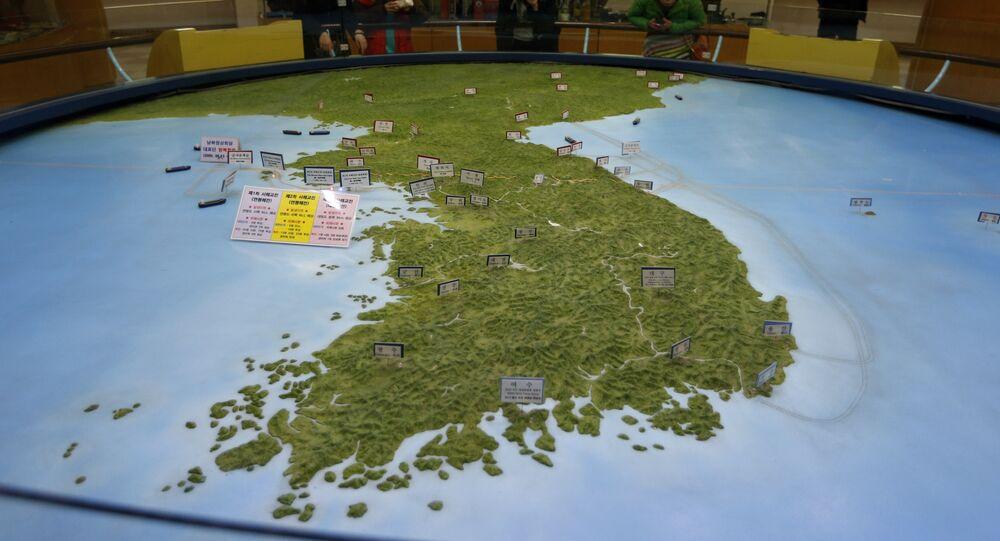شبه الجزيرة الكورية