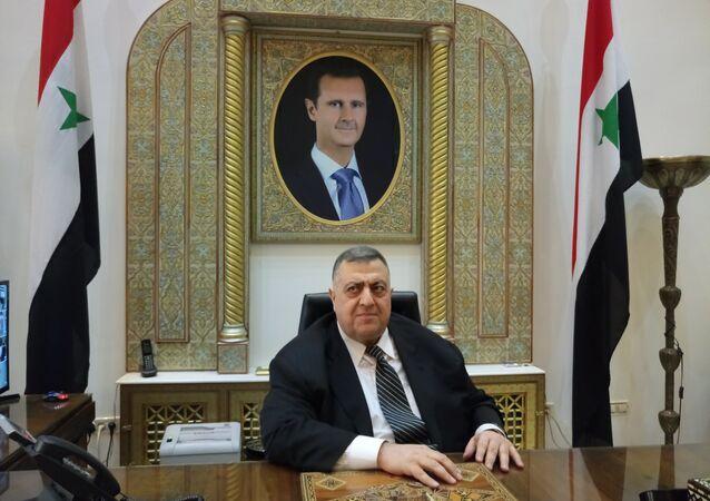 حمودة الصباغ رئيس مجلس الشعب السوري