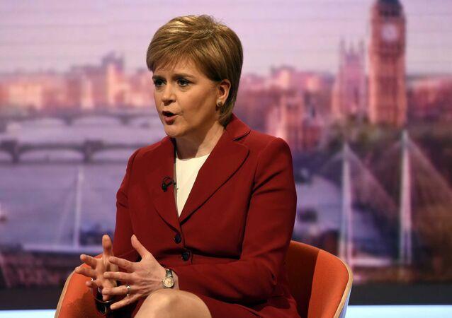 رئيسة الوزراء الاسكتلندية نيكولا ستيرجن
