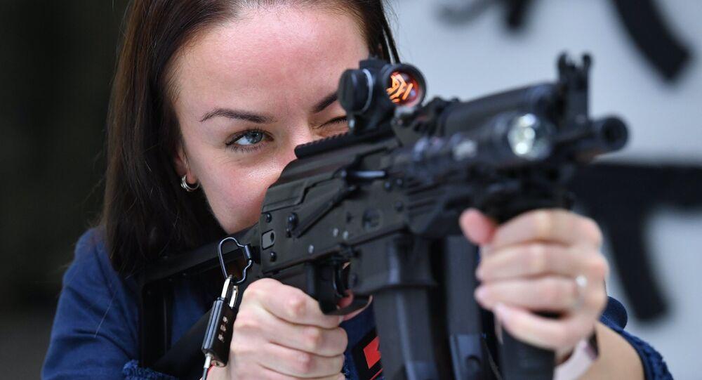 سلاح من صنع شركة كلاشنيكوف