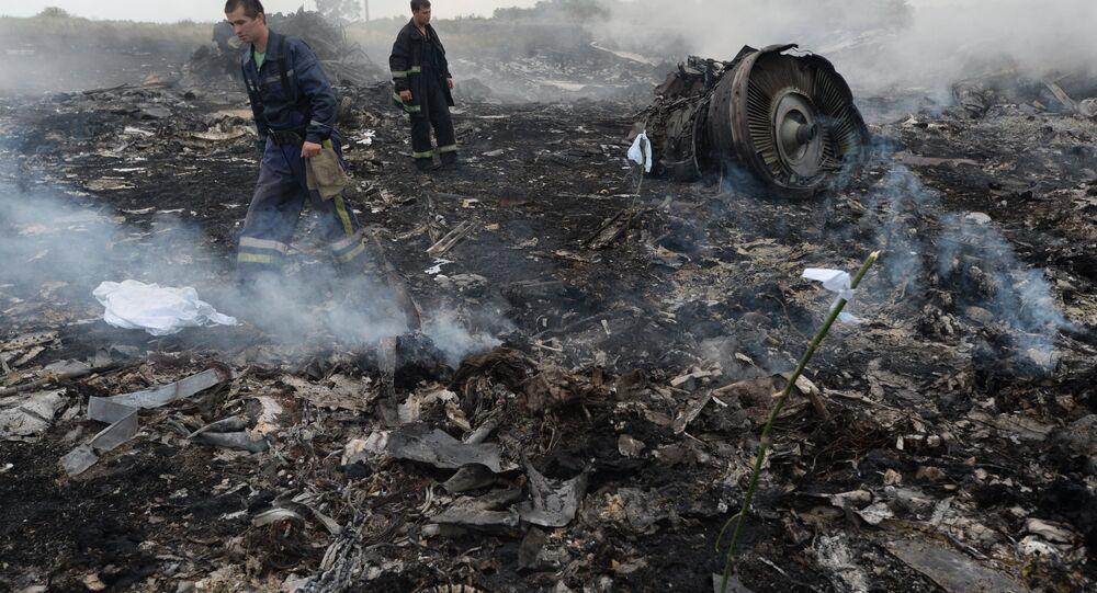حادث تحطم طائرة بوينغ الماليزية في أوكرانيا