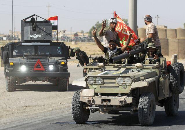 القوات العراقية تتقدم الأحياء الجنوبية في كركوك، العراق 16 أكتوبر/ تشرين الأول 2017