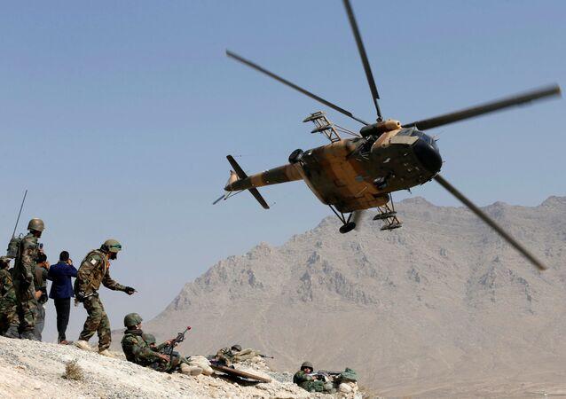 الجيش الأفغاني