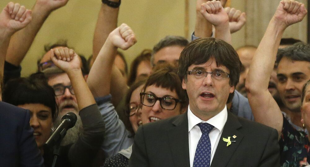 رئيس حكومة كتالونيا المقال كارلس بوغديمونت
