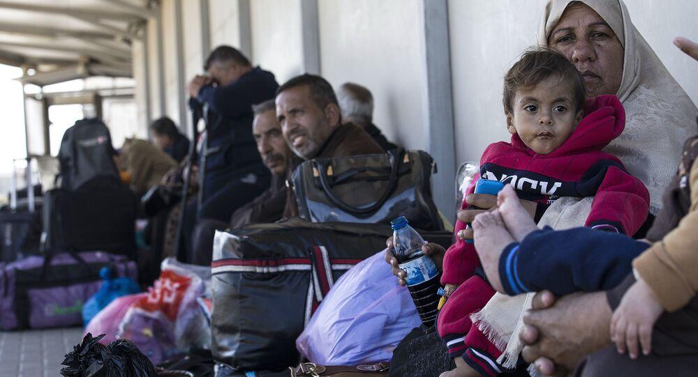 الحدود بين قطاع غزة وإسرائيل - معبر إيريز البري