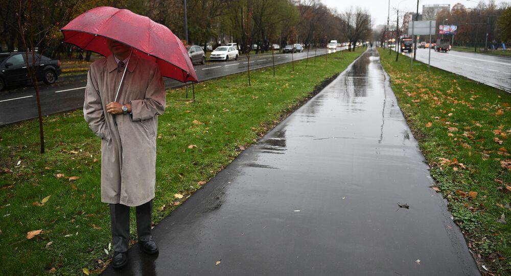 الجو في موسكو - أمطار - مطر - روسيا
